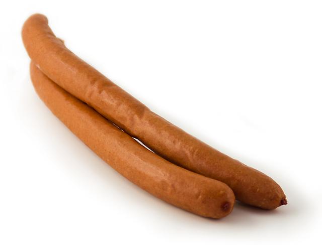 Wienerkorv av vilt